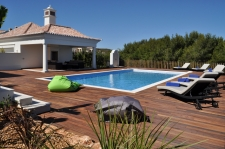 Martinhal Sagres Luxury Villas pool area and BBQ